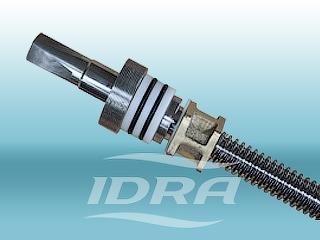 IDRA - чугунная задвижка с обрезиненным клином 30ч39р тип МЗВ