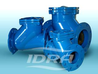 IDRA - шаровой обратный клапан для канализации чугунный фланцевый